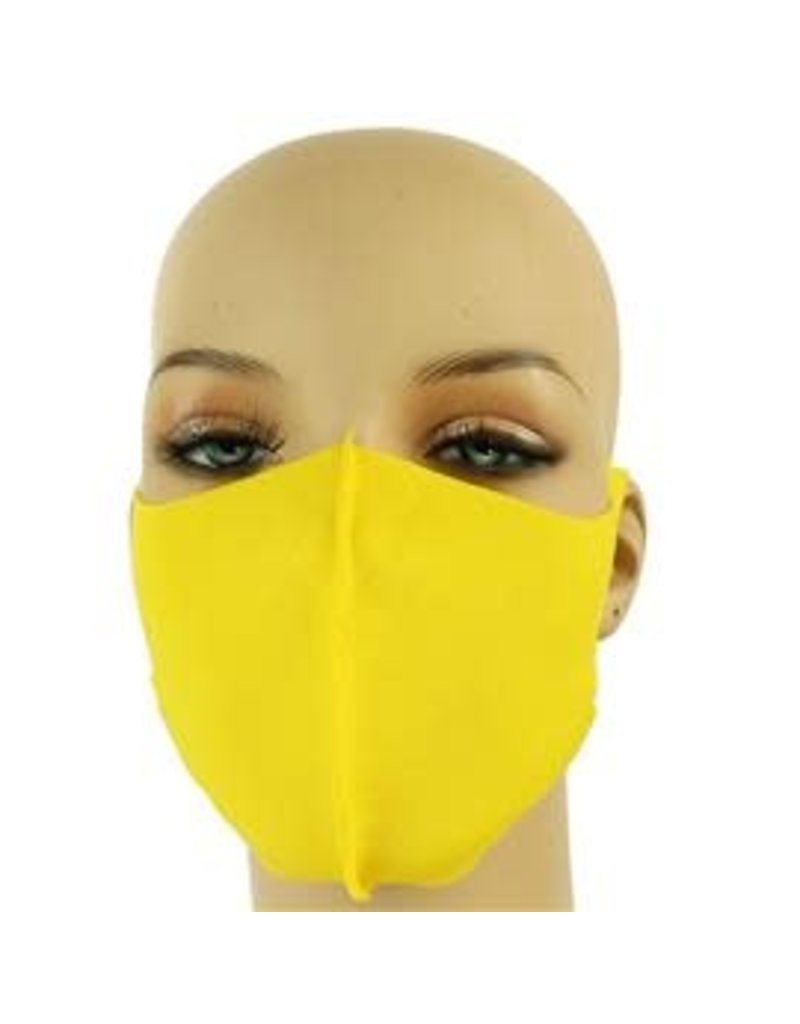 Easy Going Washable Mask - Yellow