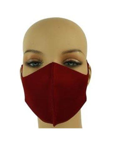 Easy Going Washable Mask - Burgundy