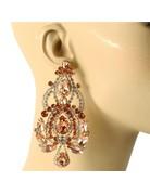 So Regal Earrings - Rose Gold