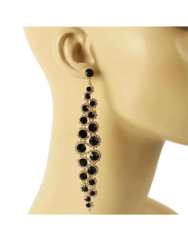Expensive Taste Earrings - Black