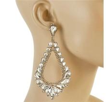 Royal Tiers Earrings - Gold