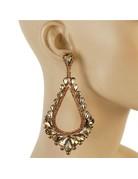 Royal Tiers Earrings - Topaz