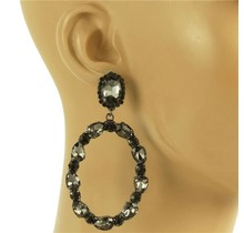 Glam Up Earrings - Pewter