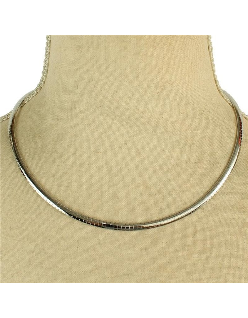 Clean Line Necklace - Silver
