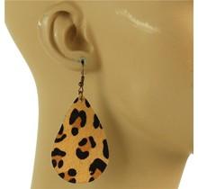 Born Free Leopard Earrings