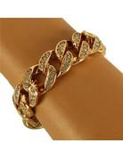 He Looked Bracelet - Gold