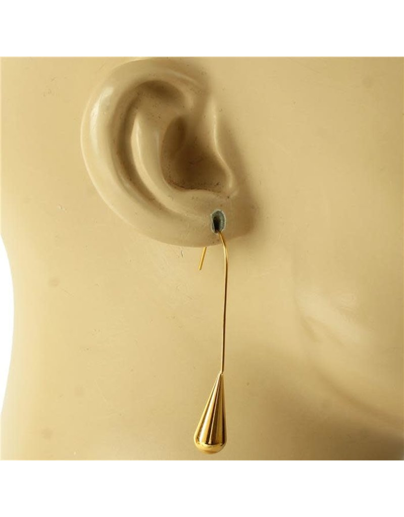 Bottom Out Earrings - Gold