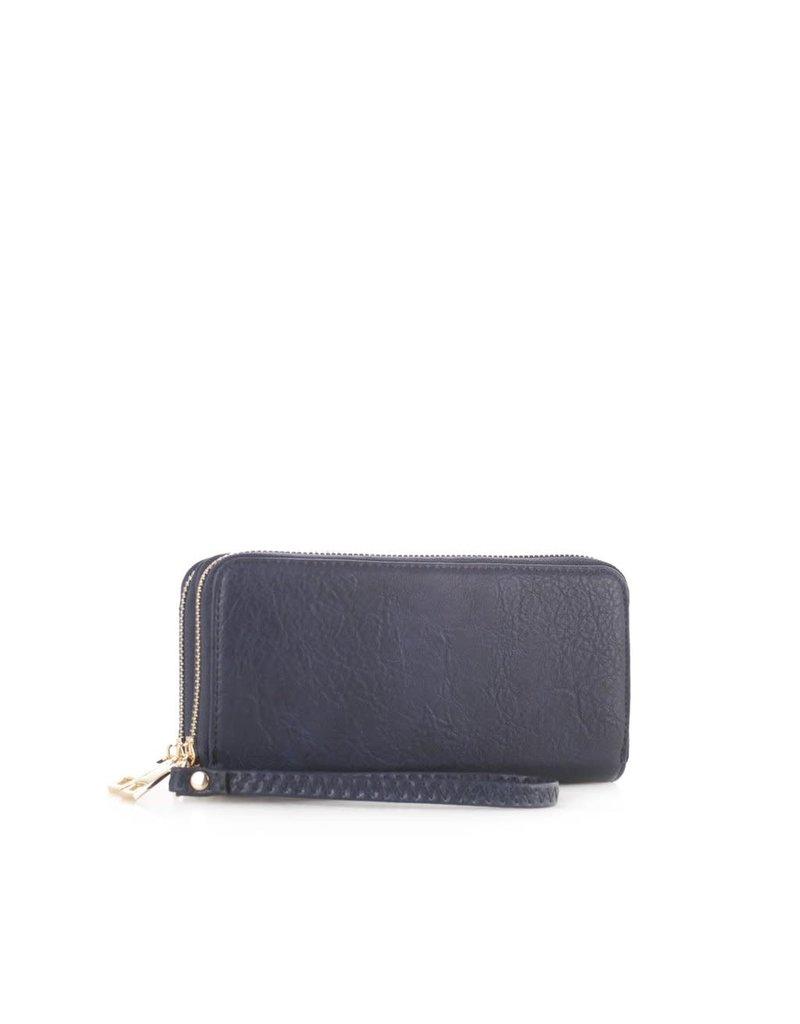Double The Fun Wristlet/Wallet - Black