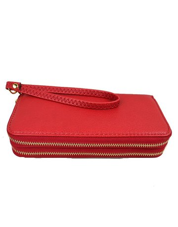 Double The Fun Wristlet/Wallet - Red