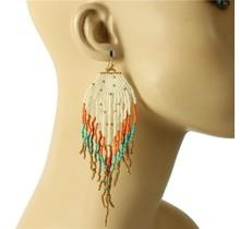 Siesta Fiesta Beaded Earrings - Multi