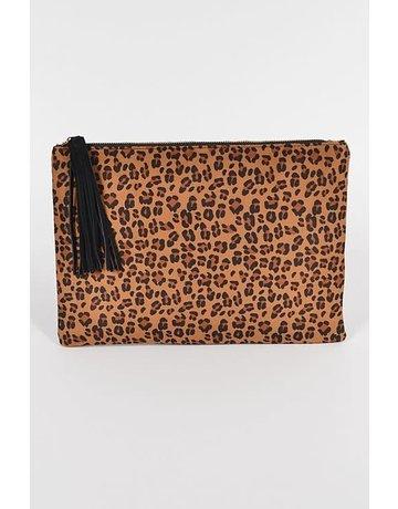 Even Bolder Leopard Clutch