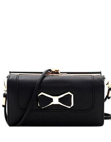 BoPeep Clutch Wallet - Black