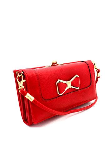 BoPeep Clutch Wallet - Red