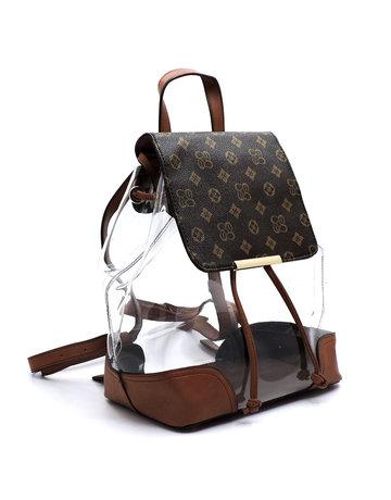 Wonder Why Backpack Set - Brown/Tan