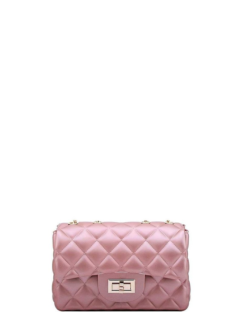 Now or Never Jelly Bag - Pearl Pink