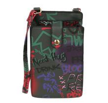 Gadget Ready  Cross Body Bag - Black