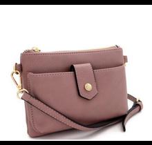 In Tune Cross Body Bag - Lavender