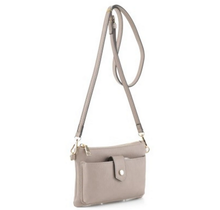 In Tune Cross Body Bag - Taupe