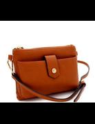 In Tune Cross Body Bag - Brown