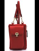 Call Me Cross Body Bag - Red