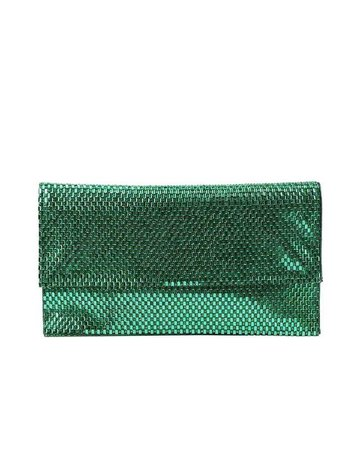 Jewels Galore Clutch - Mint