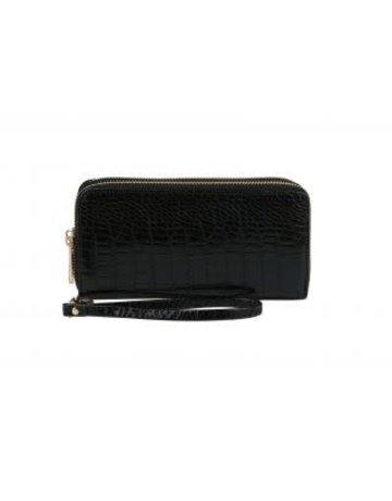 Textured Feel Wallet - Black