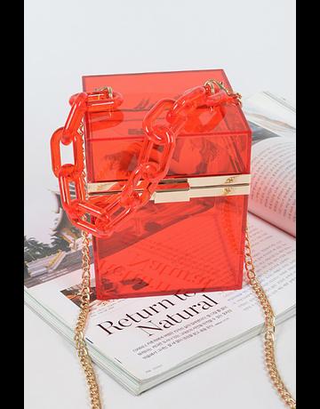 Natural Beauty Handbag - Red