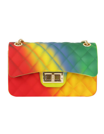 Loyalty Club Jelly Bag - Multi Rainbow