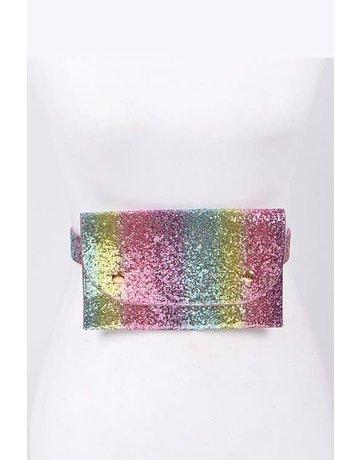 Rainbow Glitz Fanny Pack