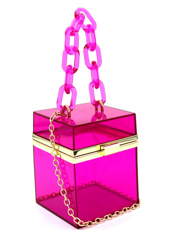 Jack In The Box handbag - Fuchsia