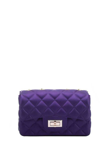 Now or Never Jelly Bag - Purple
