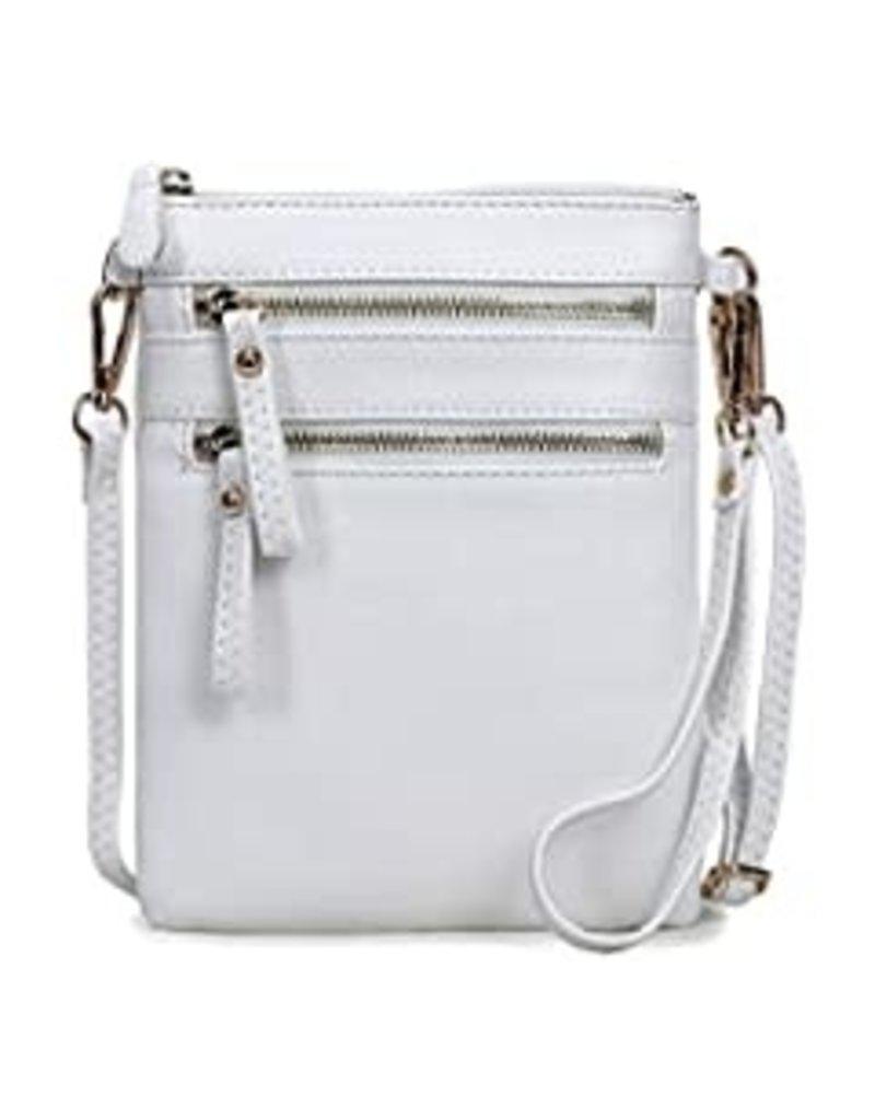 Leaving Now Cross Body Bag - White