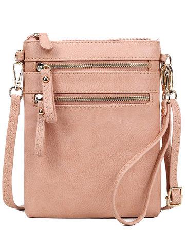 Leaving Now Cross Body Bag - Blossom Pink