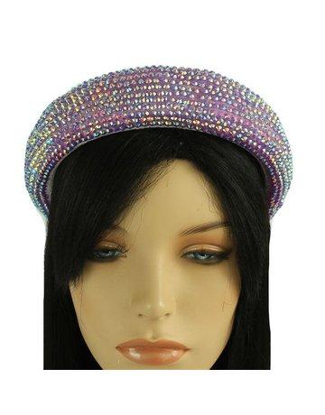 Hi Tide Crystal Headband - Lavender