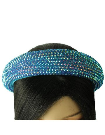 Hi Tide Crystal Headband - Blue