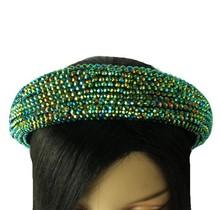Hi Tide Crystal Headband - Emerald