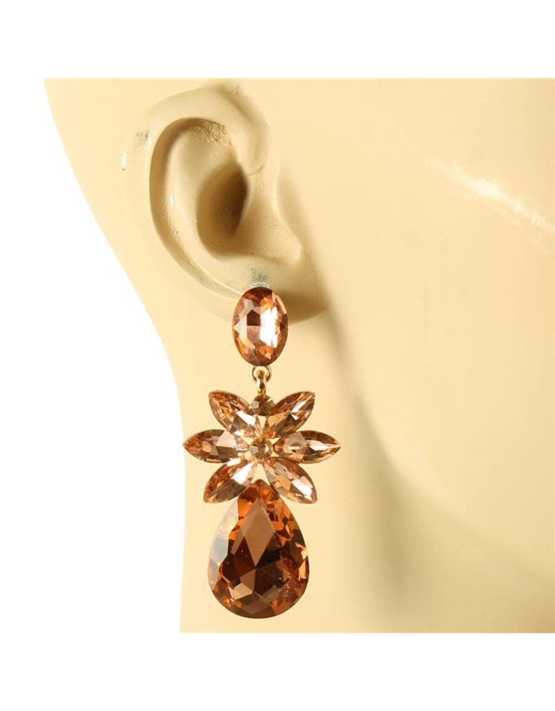 All Out Earrings - Rose Gold