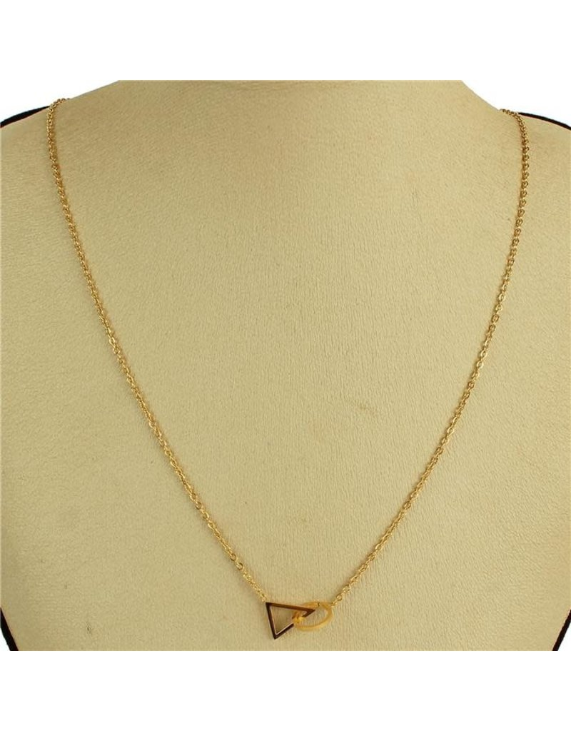 Tri Deal Necklace - Gold