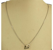 Tri Deal Necklace - Silver