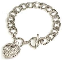 Heart Throb Bracelet - Silver
