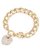 Heart Throb Bracelet - Gold Iridescent