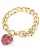 Heart Throb Bracelet - Pink