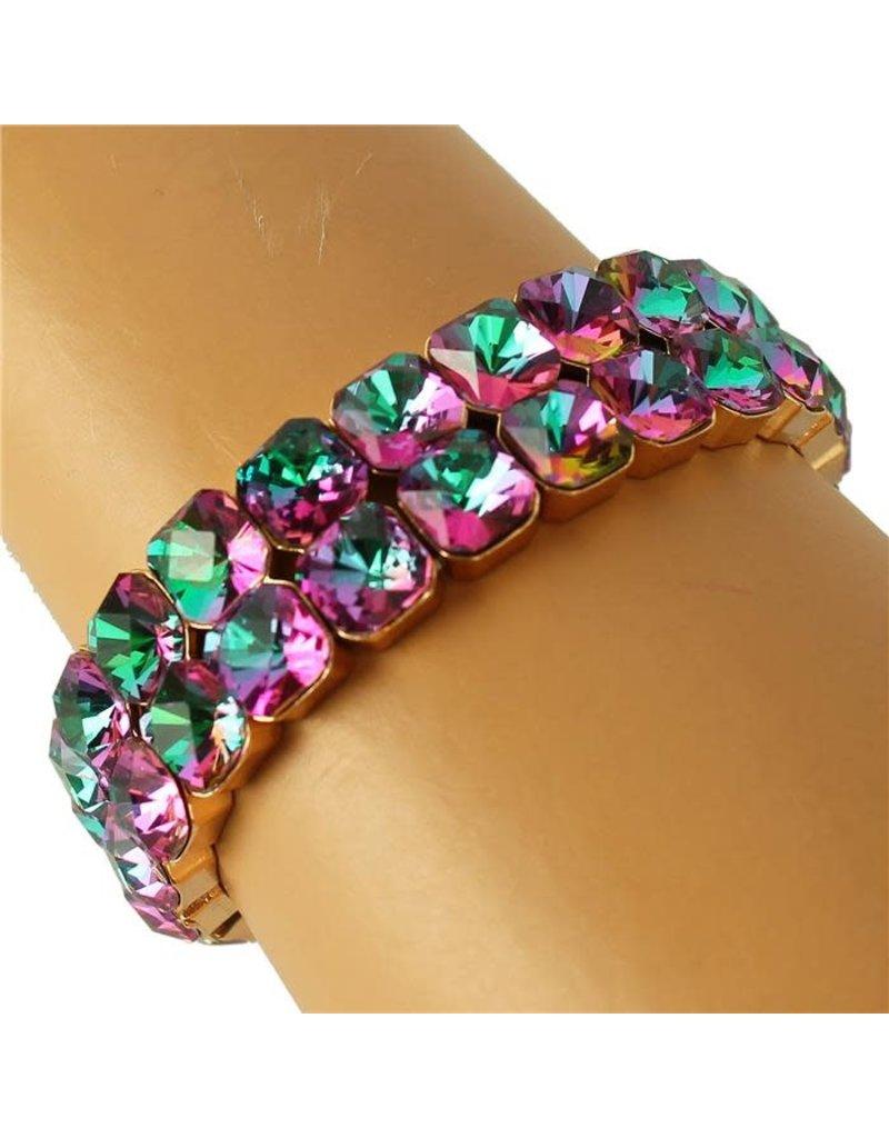 Squared Away Bracelet - Multi