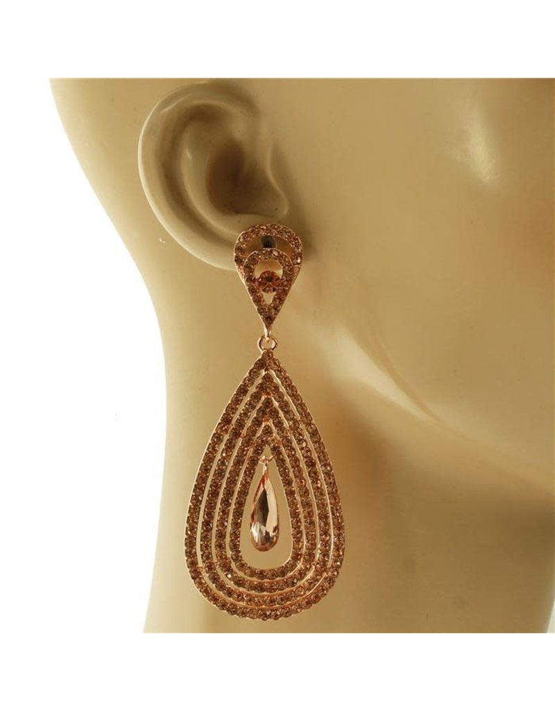 Truly Yours Earrings - Rose Gold