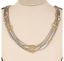 A Step Above Necklace - Clear