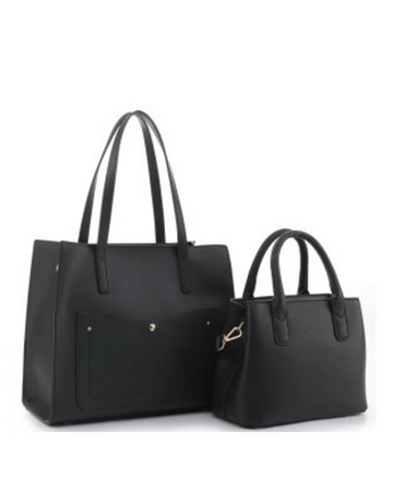 The Right Size Handbag Set - Black