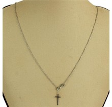 It is Well Necklace - Silver
