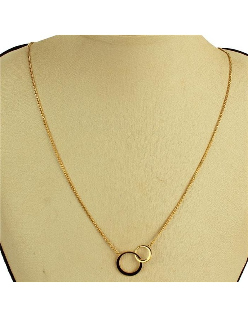 Double Dose Necklace - Gold
