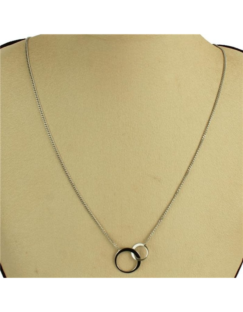 Double Dose Necklace - Silver