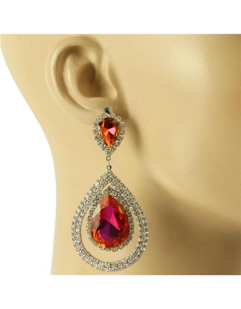 Stunner Girl earrings - Purple